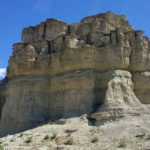 The 'pillars' rock formations in Rome, Oregon